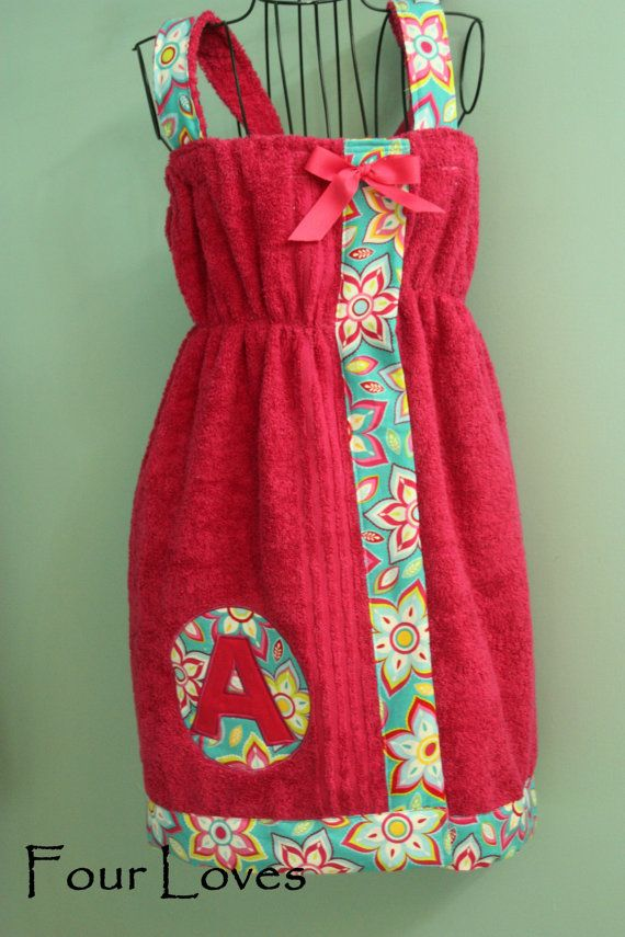 Fitted Adult and Child Spa Wrap Dress...43...Four by