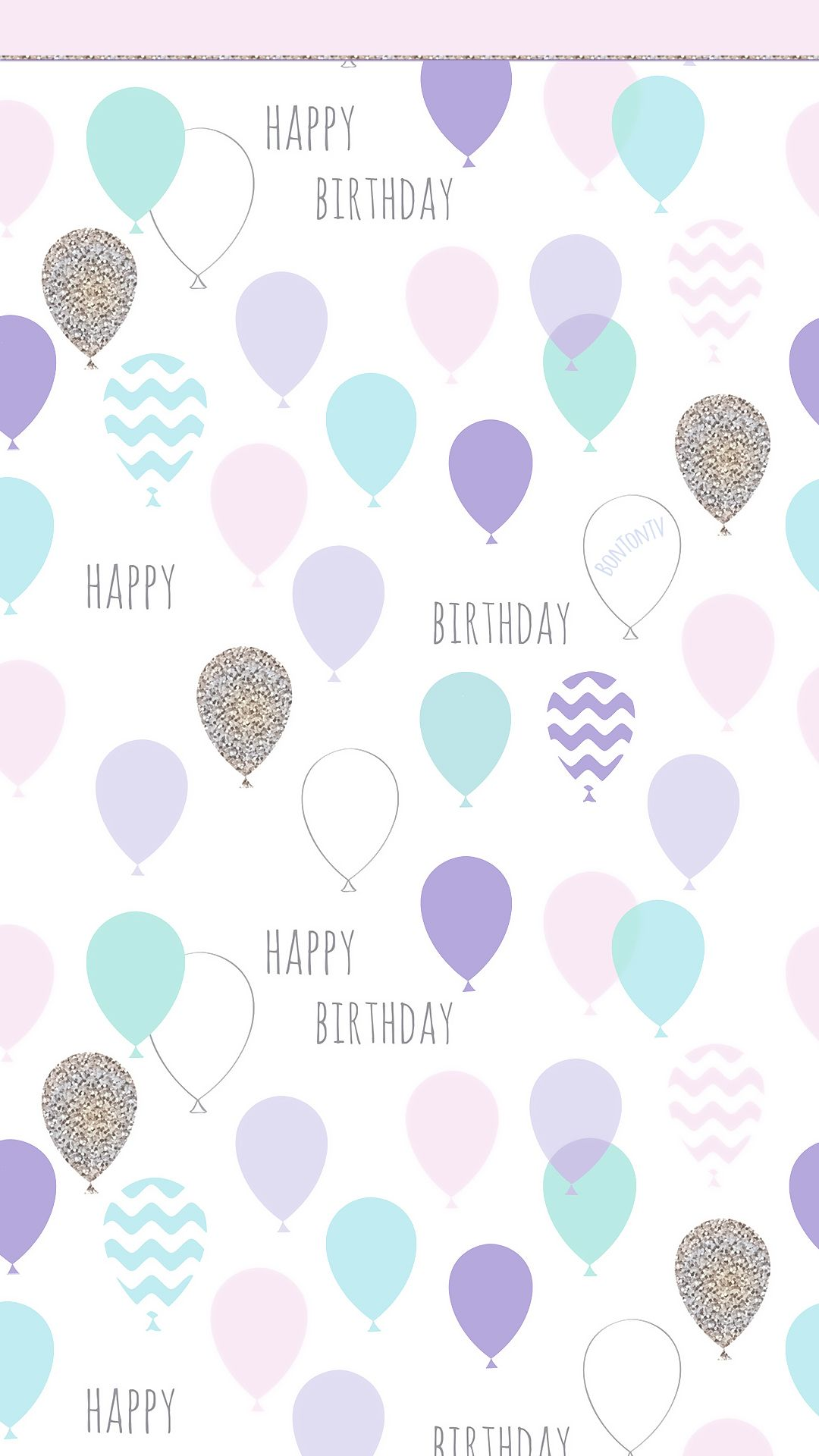 Phone Wallpapers Hd Happy Birthday Pastel By Bonton Tv Free