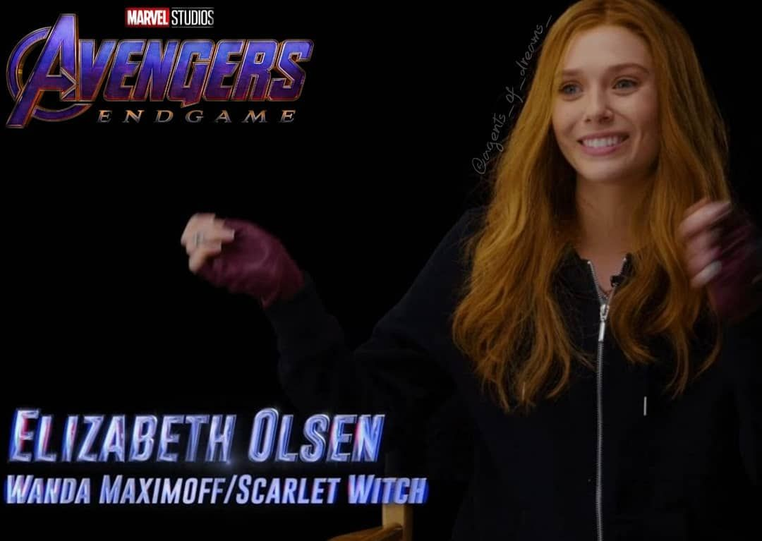 Instagram Post Added By Agents Of Dreams Elizabeth Olsen As Wanda Maximoff Scarlet Witch In Avengers Endgame Vision Avengers Elizabeth Olsen Scarlet Witch