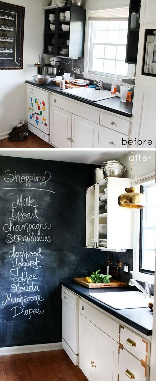 Captivating Tiny Kitchen Makeover: Add Stylish And Glamour. This Tiny Kitchen Is  Adorable. I