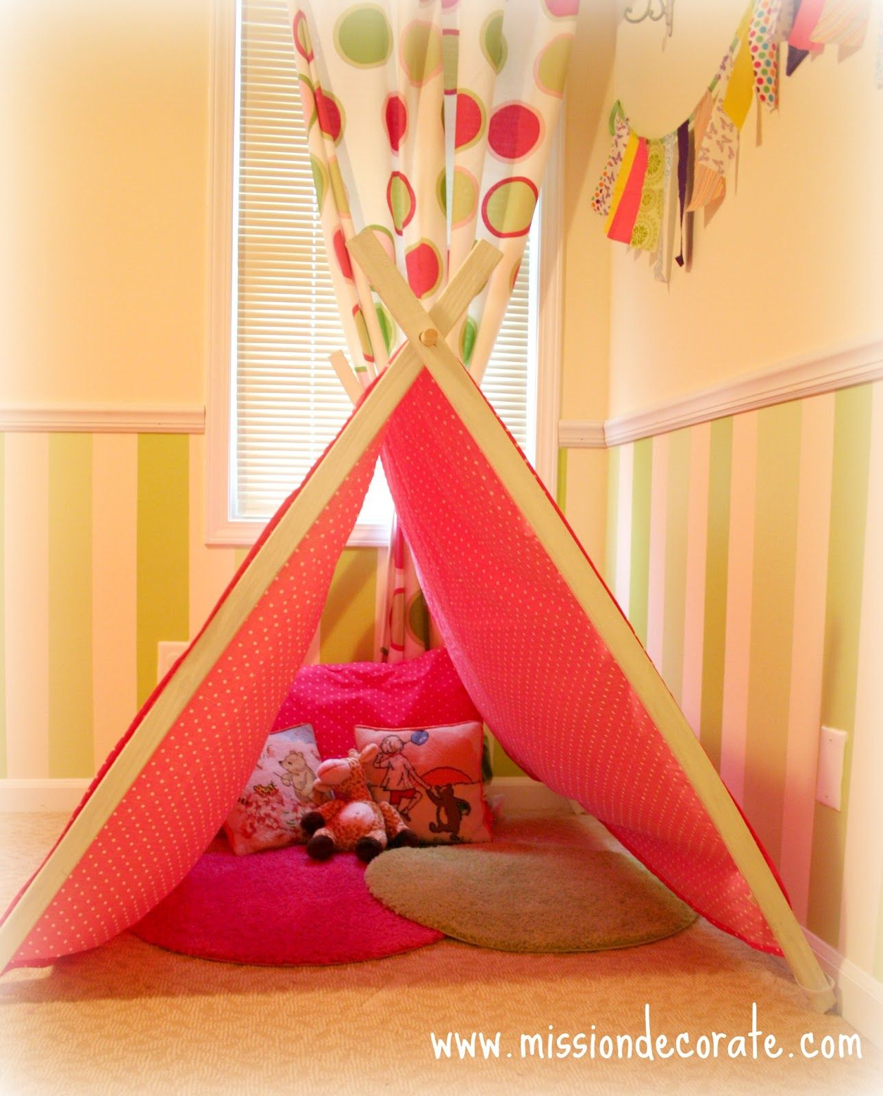 mission decorate diy kid s tent sew cute pinterest kids s