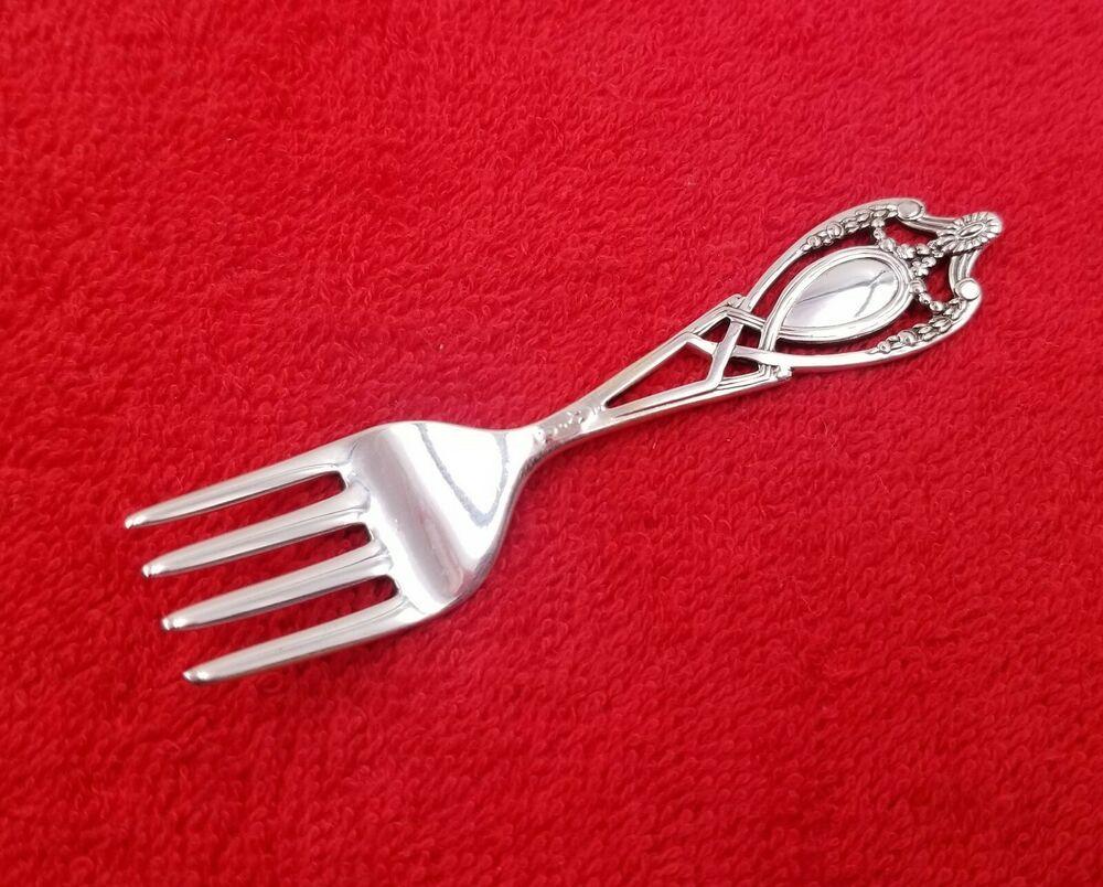 Fleur De Lis by Gorham Sterling Silver Regular Fork 7