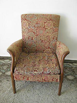 Vintage Parker Knoll Chair 749 1014 Armchair Fireside Chair