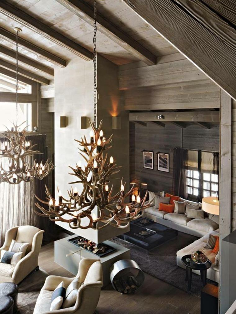 #Interior Design Haus 2018 Rustikale Wohnzimmer   Eine Gemütliche Rustikale  Einrichtung Für Das Wohnzimmer #