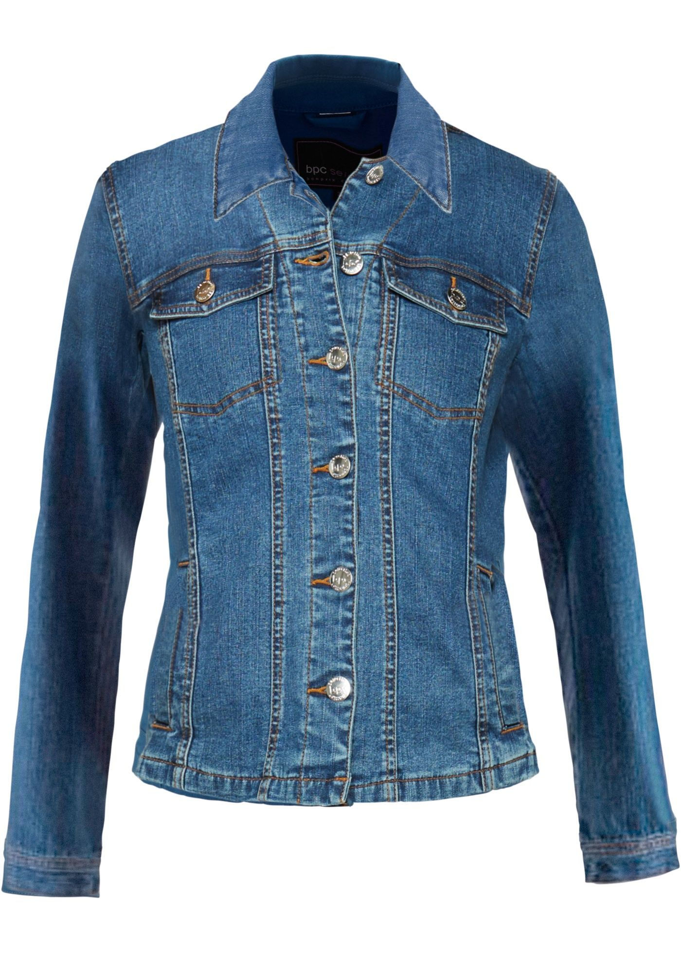 6a0f5039363a Jacke im modischen Jeanslook in 2019 | Products | Jacken, Jeans ...