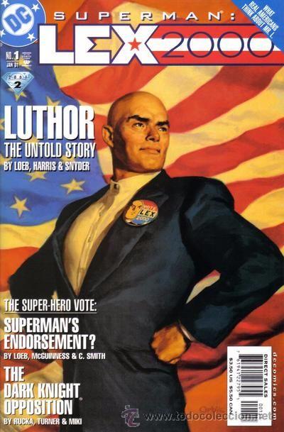 SUPERMAN: LEX 2000, ONE SHOT, DC COMICS, 2.001, USA