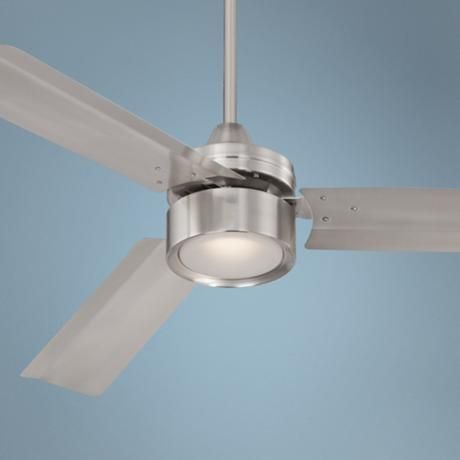 52 Casa Arcus Brushed Nickel Led Ceiling Fan 3x288 Lamps