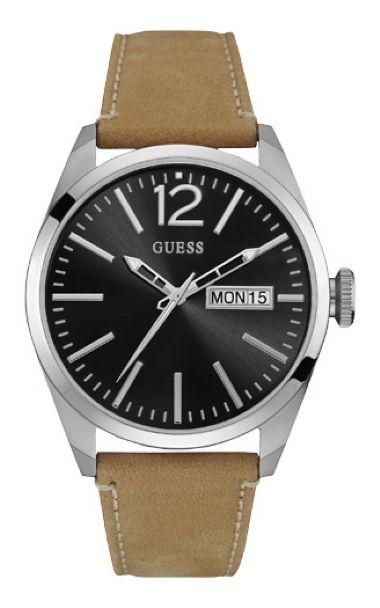 b5d2a161568 92584G0GTNC3 Relógio Masculino Pulseira de Couro Guess