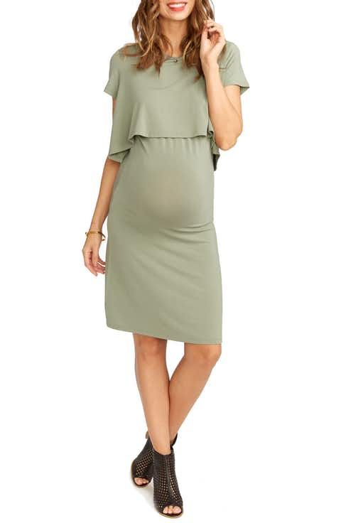5e9c24aa17772 Rosie Pope Anita Popover Maternity Dress | A Submissive Beginning ...