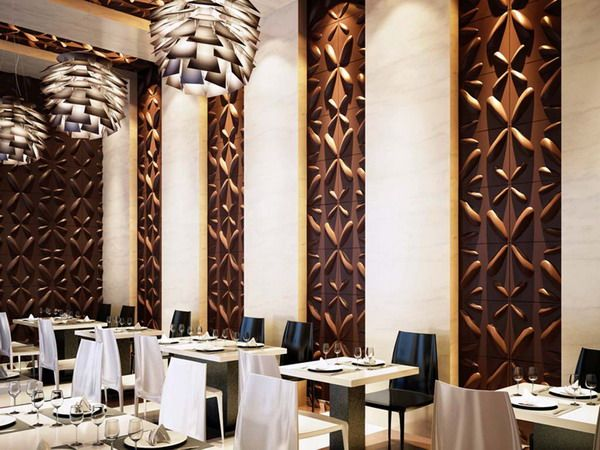 Beautiful Wall Design Ideas For Restaurants Gallery - Interior ...