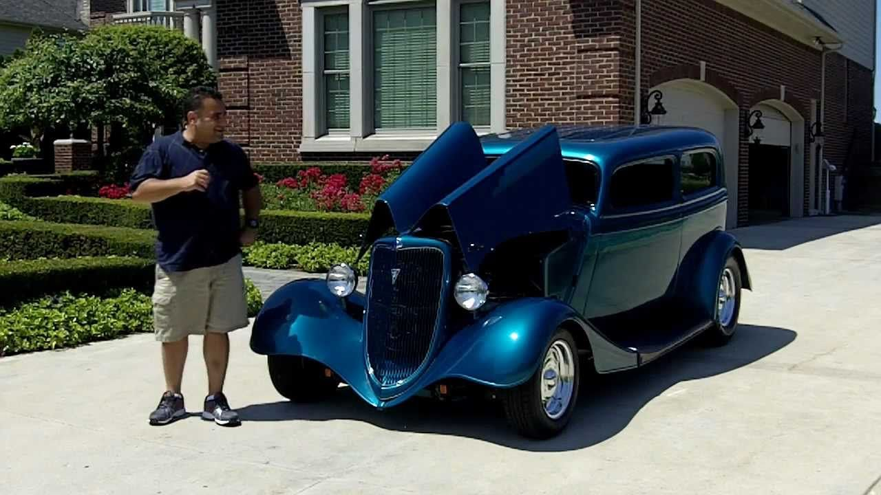 1934 Ford Street Rod Classic Muscle Car for Sale in MI Vanguard ...