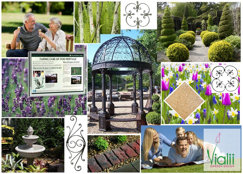 Moodboard For Provost Park Bridge Of Allan Garden Design Mood Board Outdoor Furniture Sets