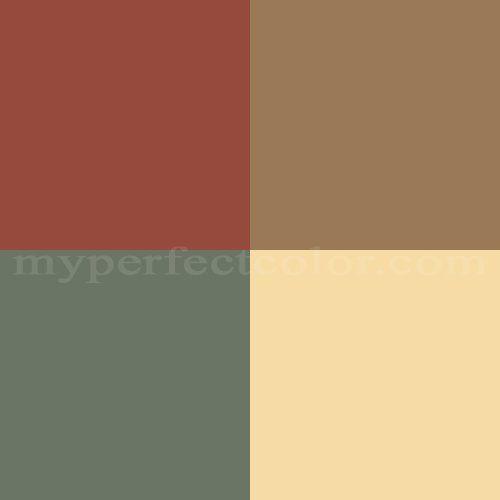Warm Dining Room Colors: Benjamin Moore™ Interior Inspirations