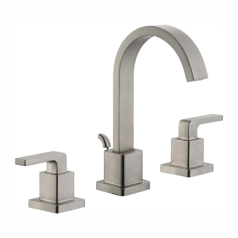 Glacier Bay Farrington 8 In Widespread 2 Handle Bathroom Faucet