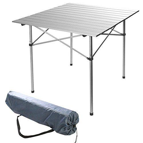 Miadomodo Table Pliante De Jardin Camping Pique Nique