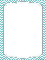 Image result for colorful chevron page borders Crafty