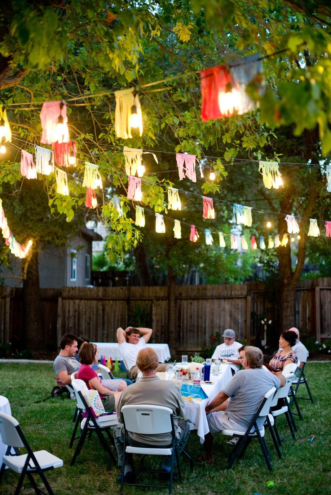 backyard birthday party ideas adults mystical designs and tags