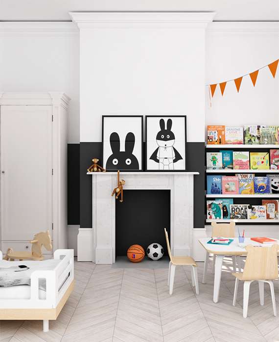 Eclectic Kids Rooms: Eclectic Kids Room Design + A Giveaway