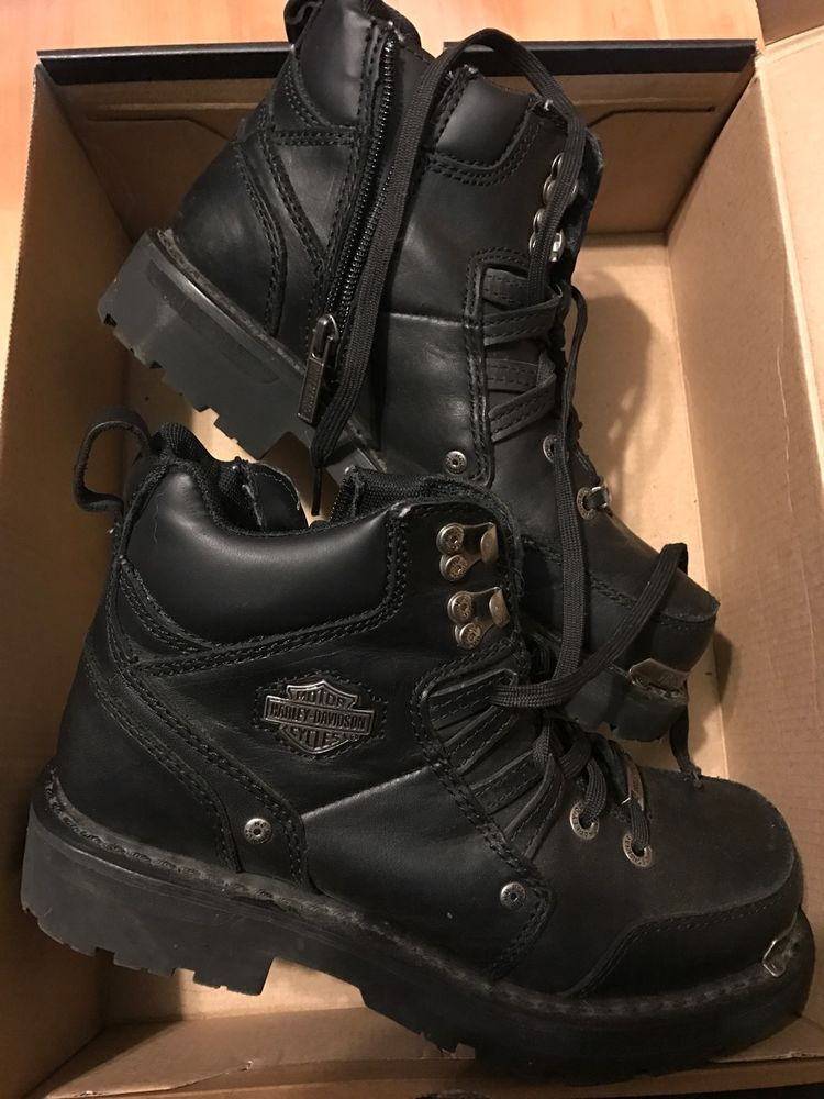 7923a5889fdc Women s Harley Davidson Motorcycle Tracey Boots Black Size 8 Worn a Few  Times  HarleyDavidson  Motorcycle  motorcycle