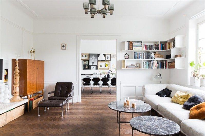 Binnenkijken in een jaloersmakend stijlvol appartement in Zweden | NSMBL.nl
