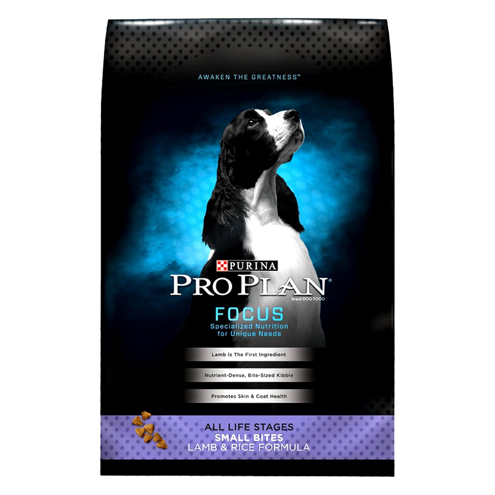 Purina Pro Plan Small Bites Dog Food size: 18 Lb, Lamb & Rice
