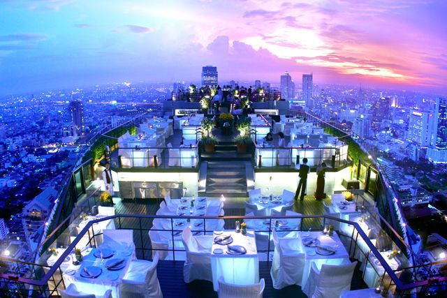 10 Of The World S Most Impressive Bars Cool Bars Rooftop Bar Sky Bar