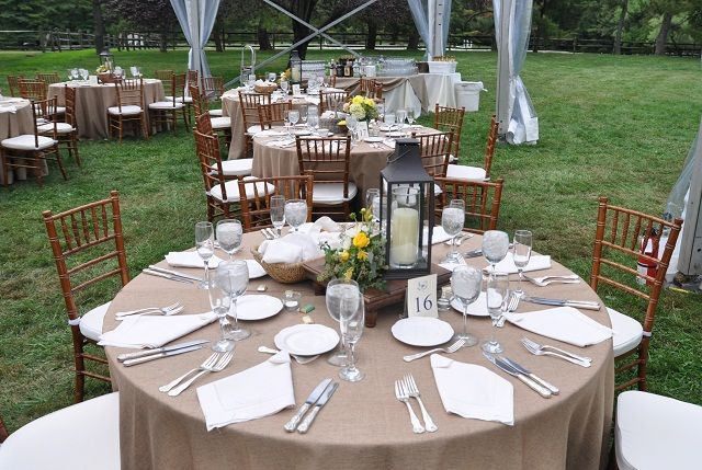 Rustic Wedding Table Settings | Table Setting - Main Line ...