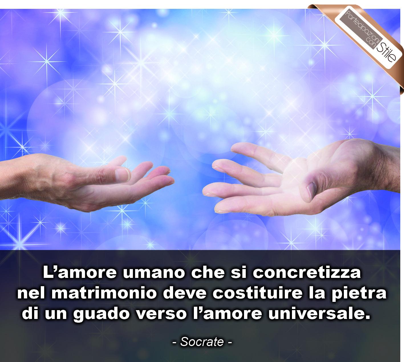 frasi d'amore universale