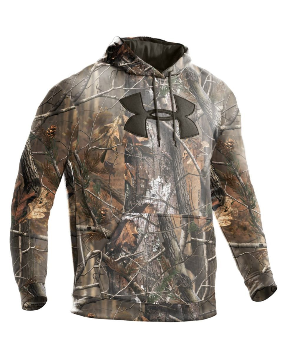 Men S Camo Big Logo Hoody Hoodies Under Armour Camo Hunting Clothes [ 1218 x 975 Pixel ]