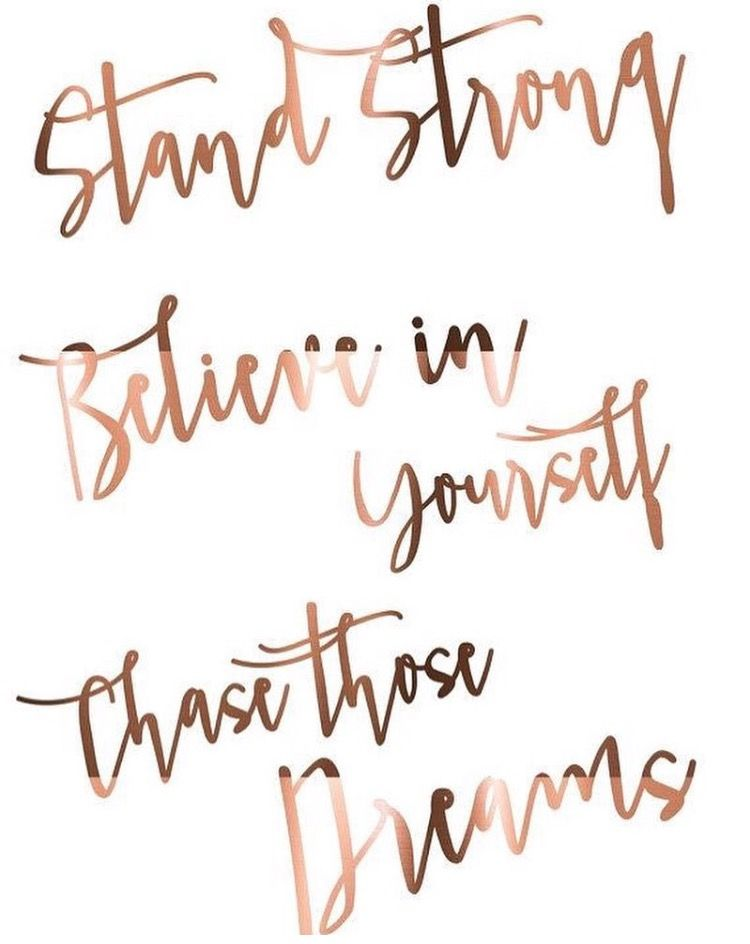Inspiring Quote Print // Stand strong // Believe in yourself ...