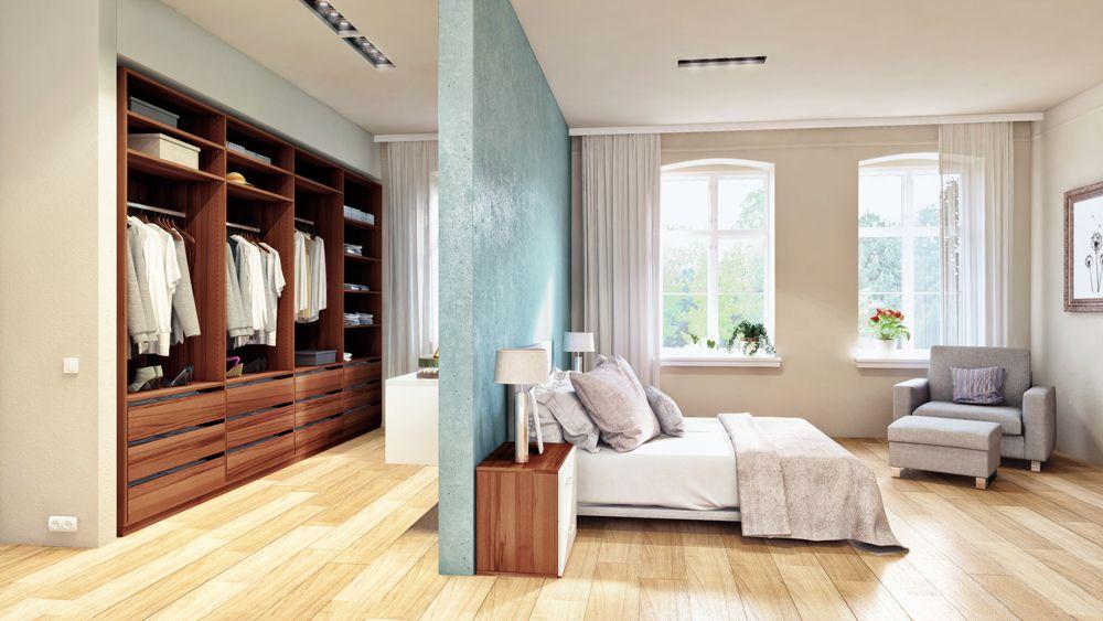 Die optimale Schlafzimmer-Aufteilung Neben dem Schlafbereich