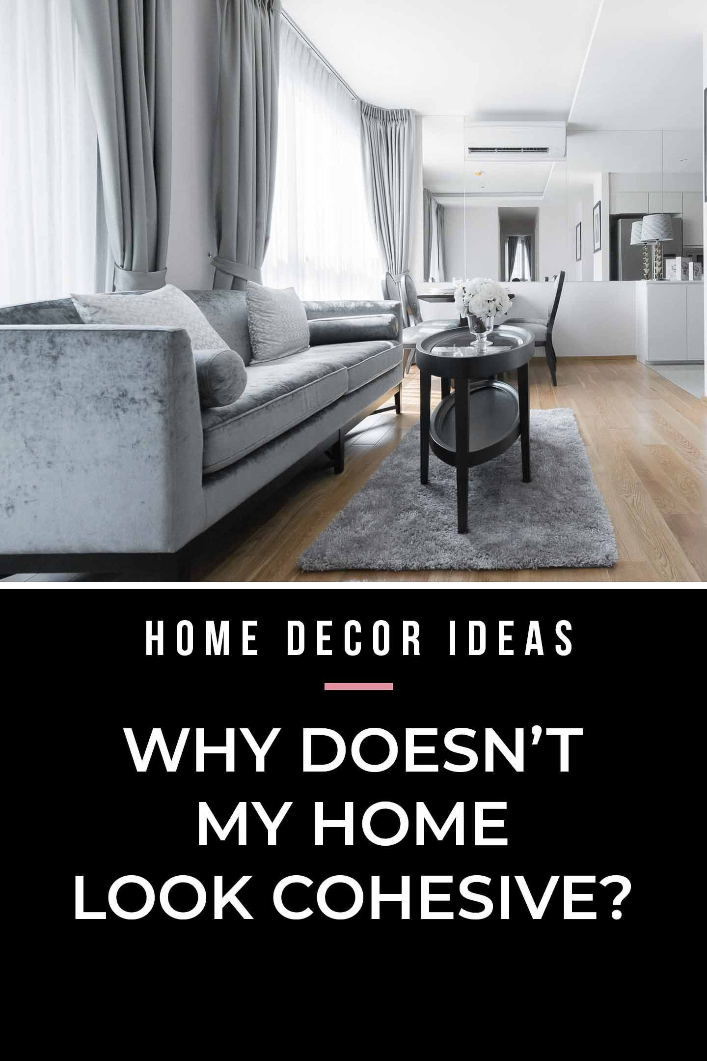 I love these interior decor ideas for how to make a cohesive home design. They are so simple to do and will make interior decorating your rooms that flow so much easier.  #fromhousetohome #homedecorideas #decoratingideas #decoratingtips  #interiordecoratingtips