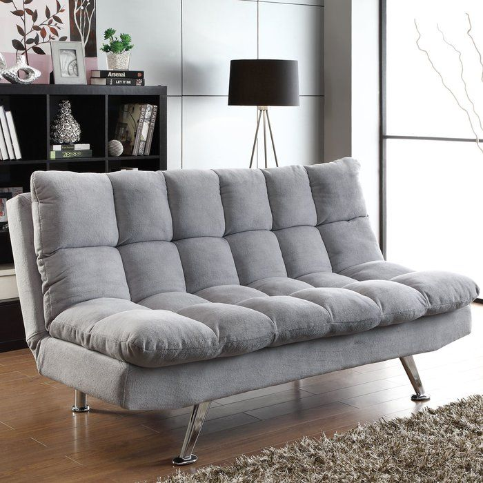 Mendon Convertible Sofa With Images Grey Sofa Bed Fabric Sofa