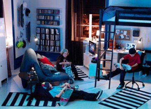Teenage Bedroom Ikea Boys Room Ideas