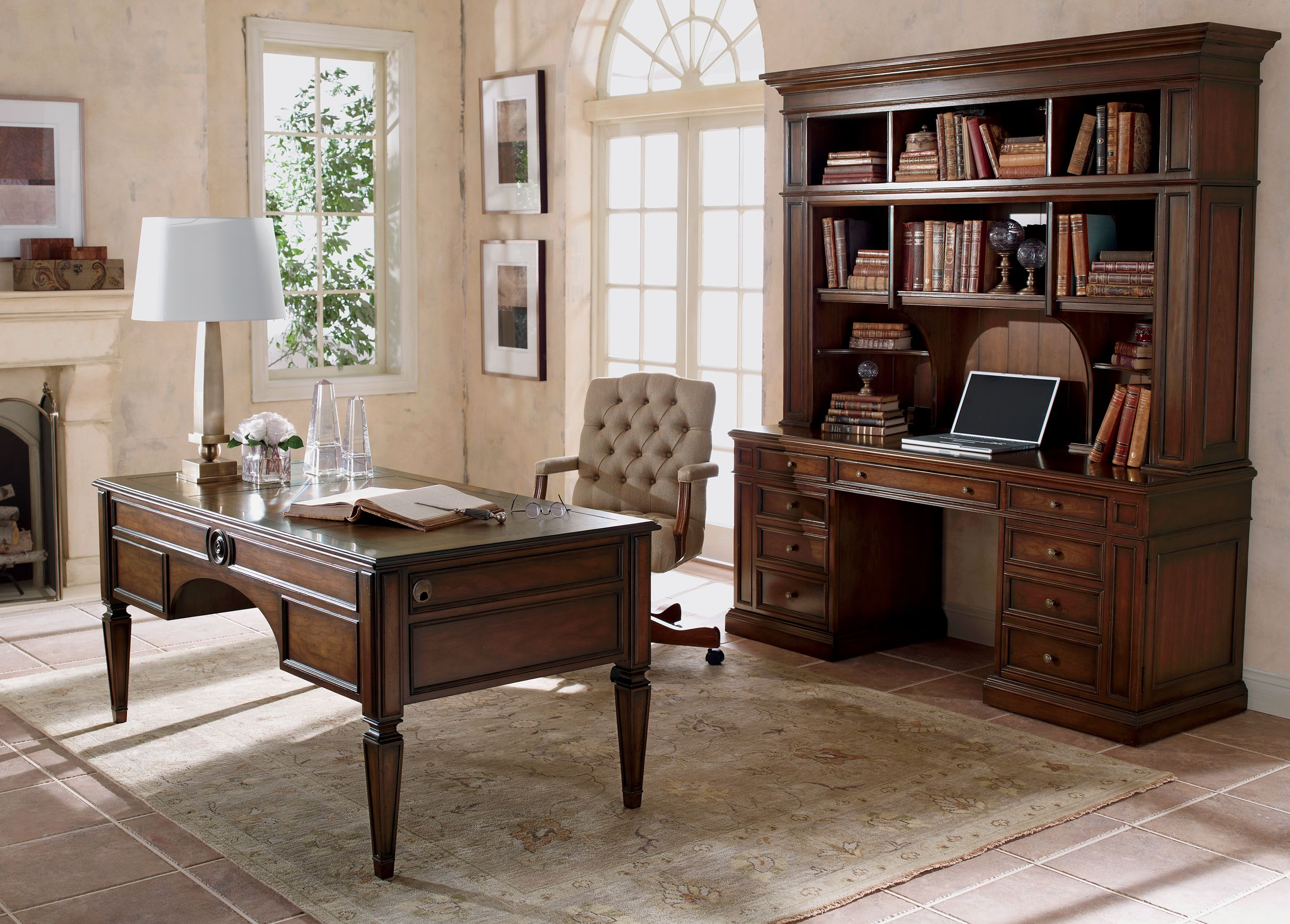 Buckley Home Office Getting Things Done Looking Great Doing It - Desks for home office ethan allen