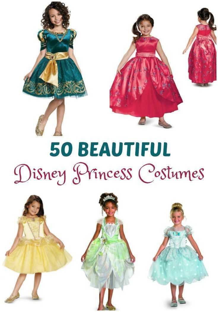 Marvelous Do You Know A Little One That Likes To Play Dress Up? Here Are 50 Beautiful  Disney Princess Costumes That Any Little Girl Will Adore.