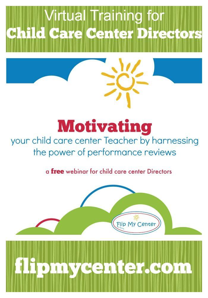 Free Child Care Center Training To Motivate Teachers