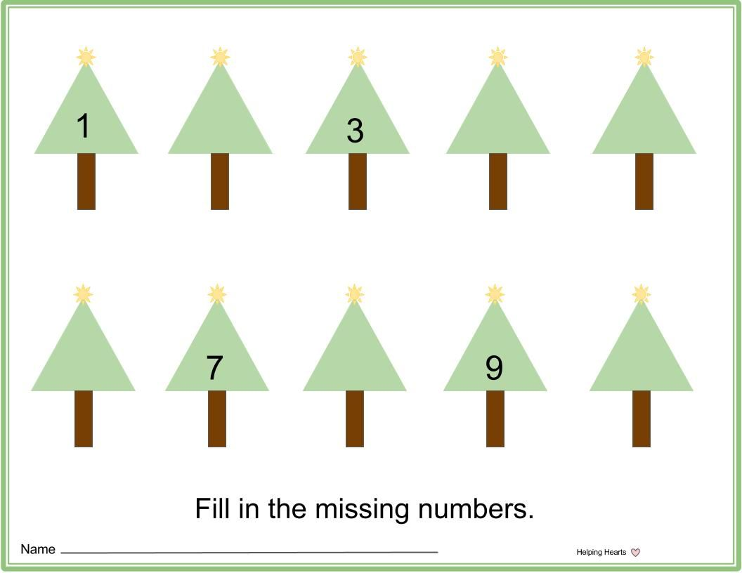 Christmas Tree Order Numbers
