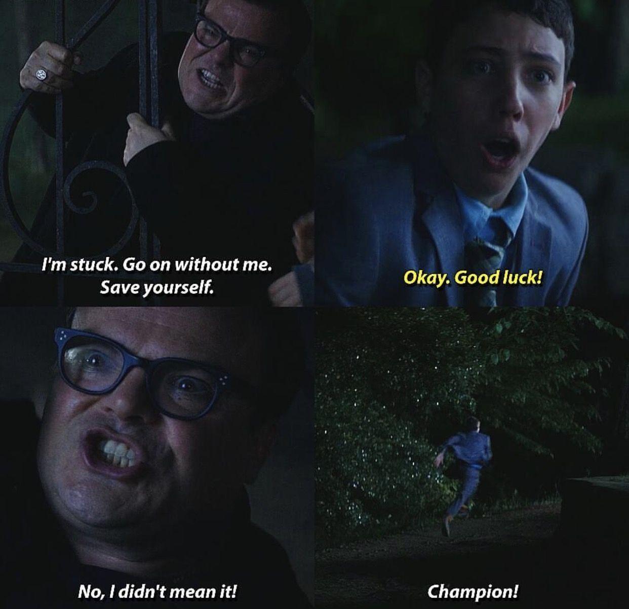 """I didn't mean it! CHAMPION!"" Goosebumps, Goosebumps"