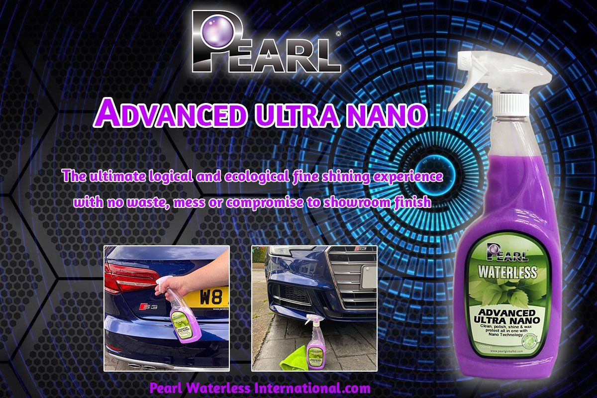 Pearl® Advanced Ultra Nano Waterless Cleaning & Detailing