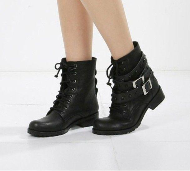 hitapr.org women black combat boots (25) #combatboots | Shoes ...