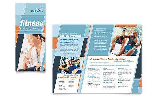 Medical Fitness Flyer  Google   Dtp Ideas