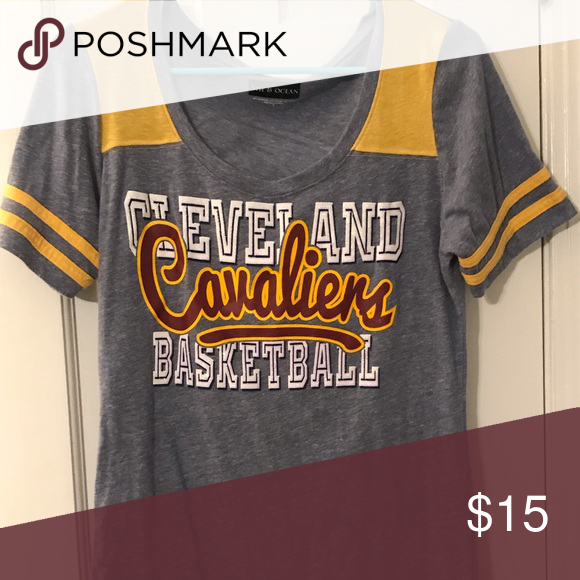 san francisco bf12c 125bc Cleveland Cavs T-Shirt Cavs t-shirt bought in the Cavs Team ...