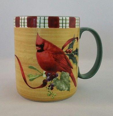 Lenox winter greetings everyday cardinal coffee mug cup catherine lenox winter greetings everyday cardinal coffee mug cup catherine mcclung birds m4hsunfo