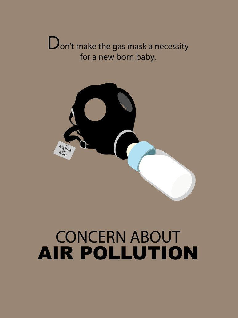 Poster design winners - Anti Air Pollution Poster Design