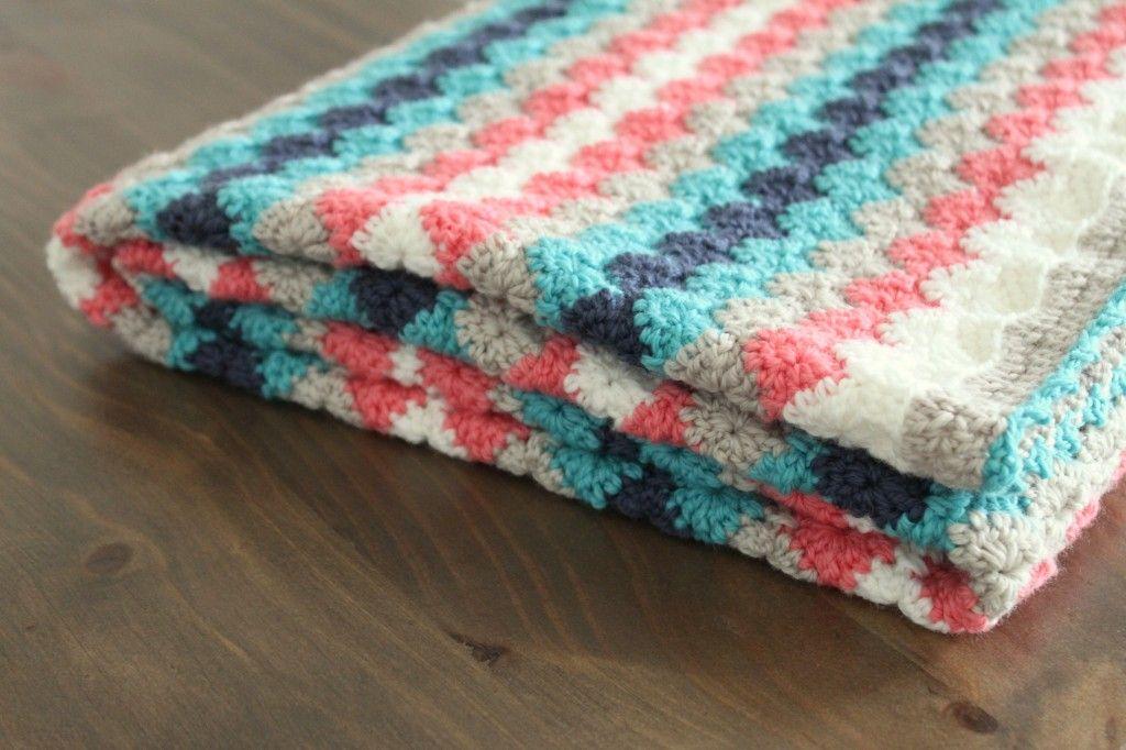 Harlequin Crochet Blanket Handmade Home Did My Own Border