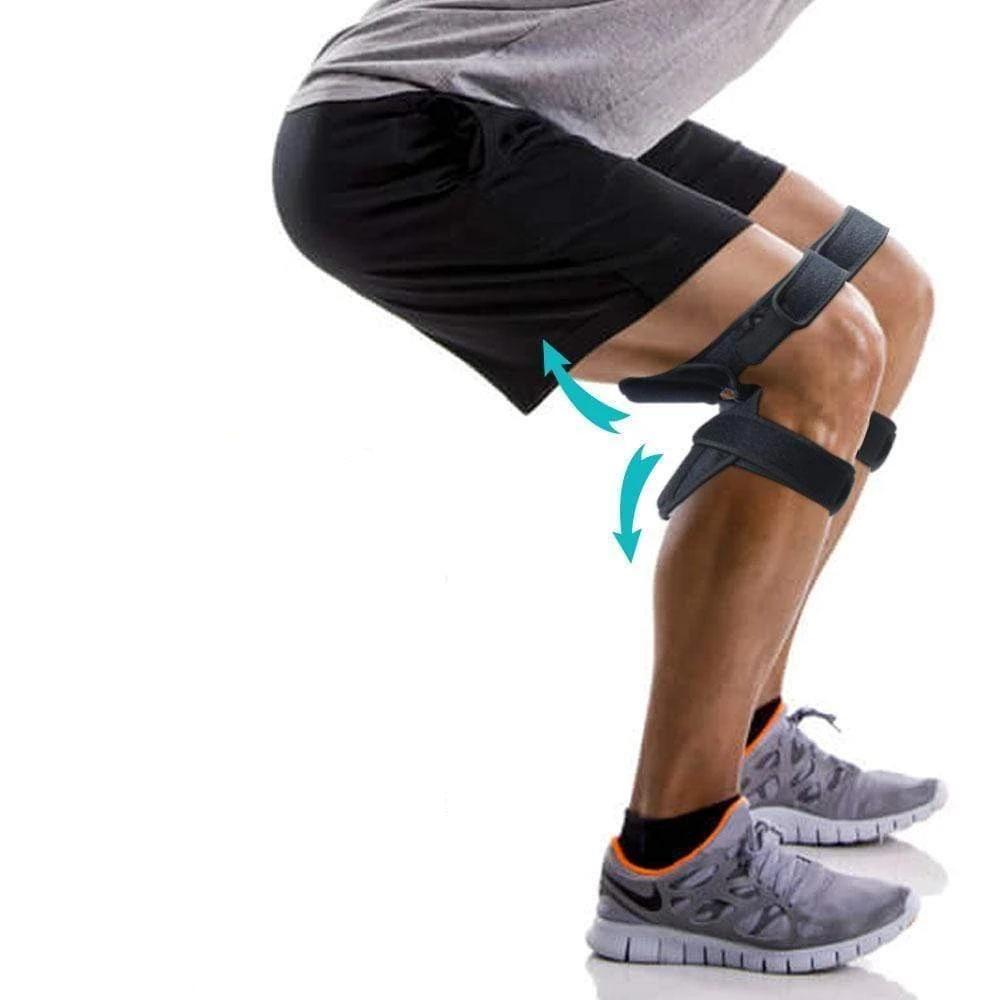 Power Knee Stabilizer Pads Pair In 2020 Leg Braces Orthopedic Brace Knee
