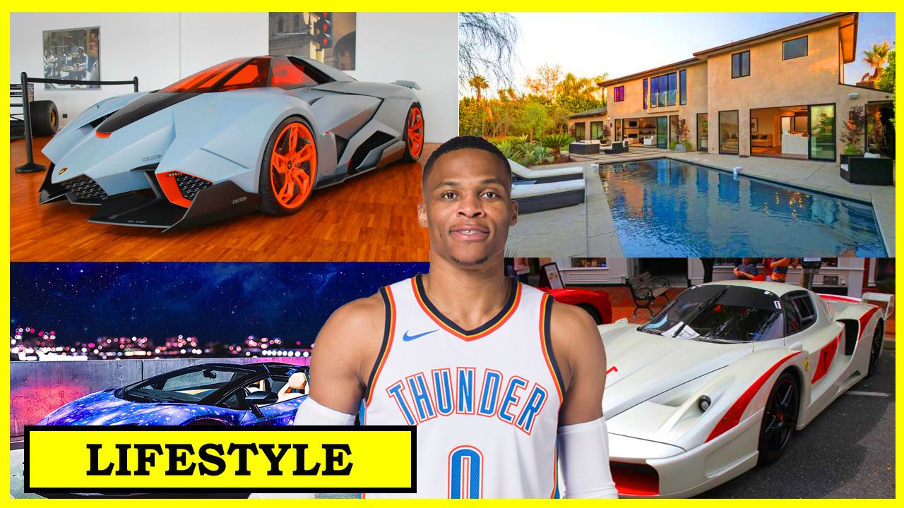 Russell Westbrook Cars >> Russell Westbrook Lifestyle Girlfriend Net Worth House Car