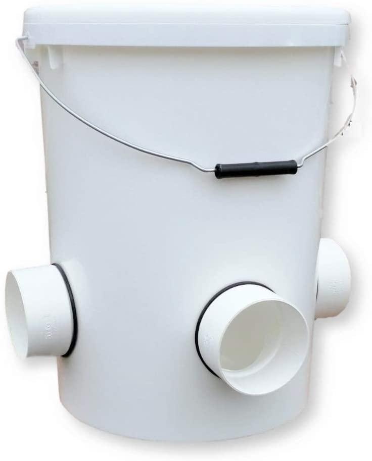 UpToDate Mangiatoia Automatica per Anatre/Oche 25l/17kg con 4 Porte di Alimentazione Perfetto per 20 Anatre: Amazon.it: Prodotti per animali domestici