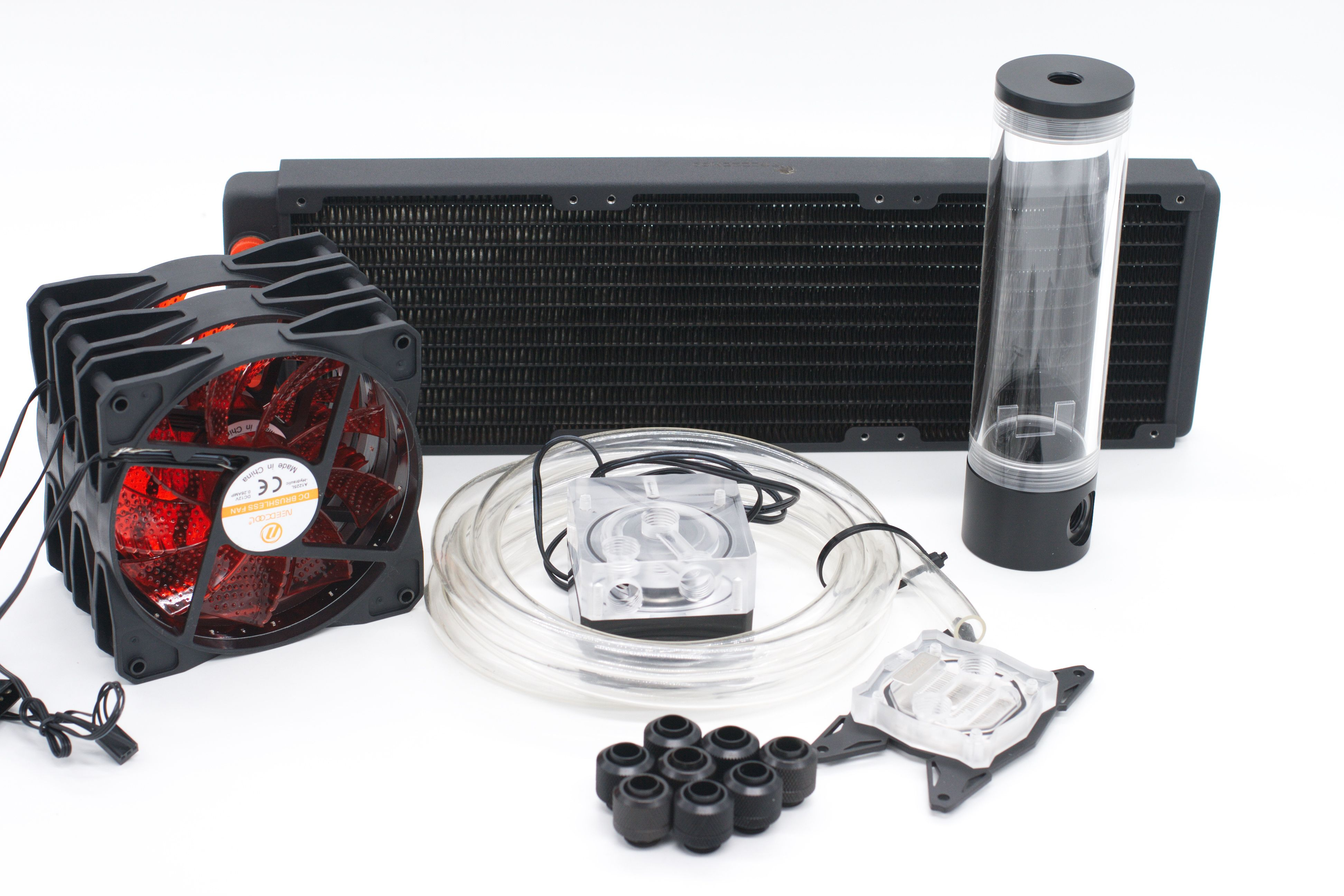 Bykski Water Cooling Kit For Cpu Intel Amd 360mm Copper Radiator